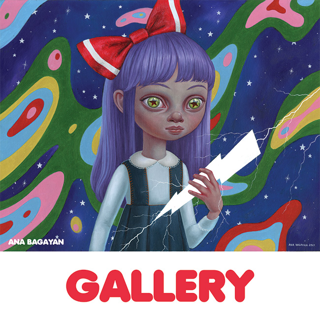 Ana Bagayan - Gallery Button