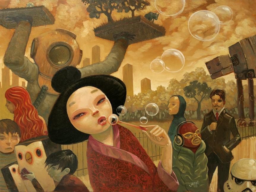AJasinski - Promenade of Curious Things