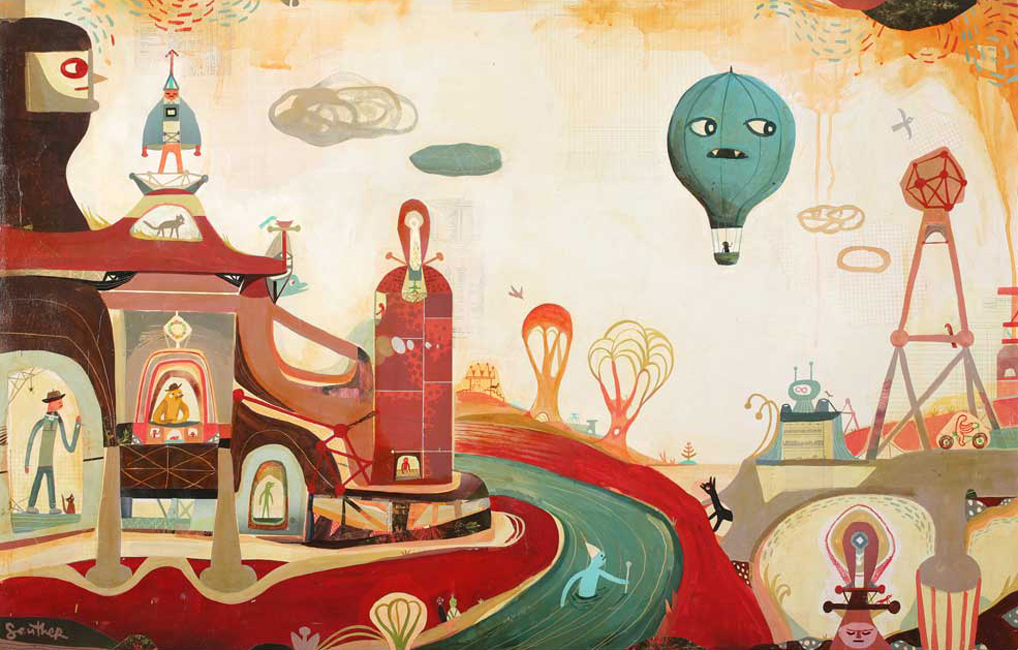 Souther Salazar – A Magical World – Artist Profile