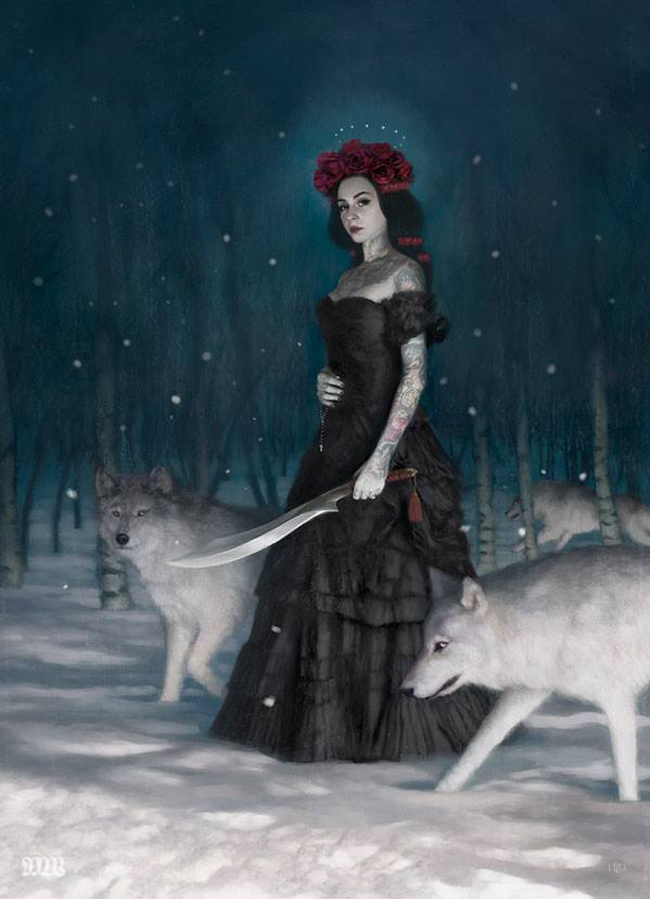 Tom Bagshaw - The Wolf Mother