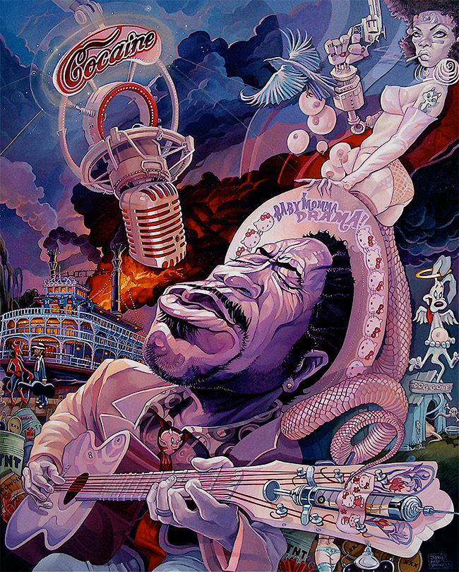 Dave MacDowell – The Decline of Western Civilization – Artist Profile