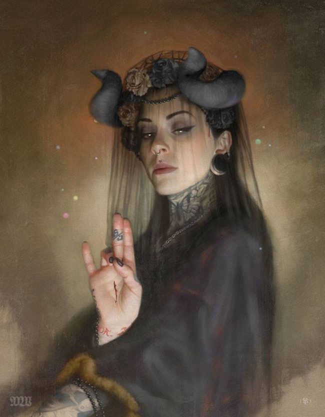 Tom Bagshaw – Beauty's Inner Strength – Artist Interview