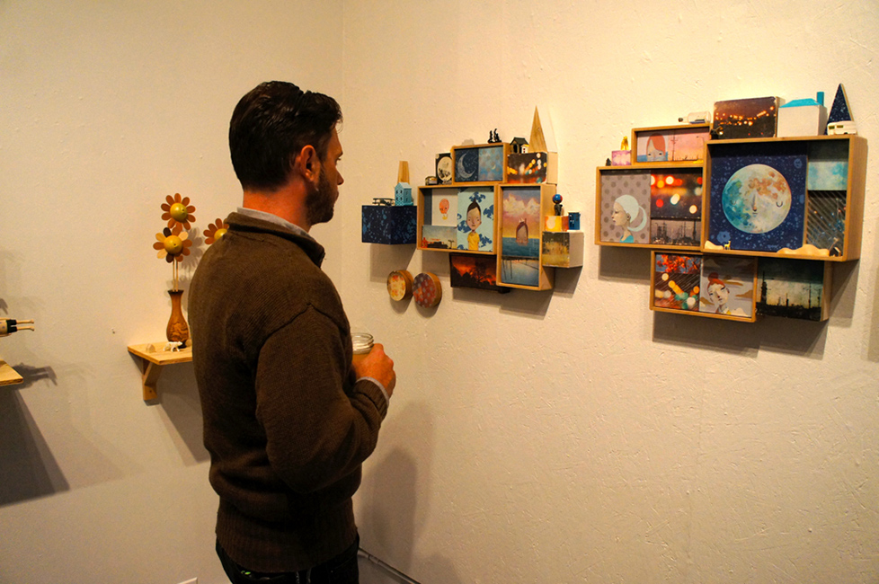 Yoskay Yamamoto - AJ Fosik Enjoying Yoskay's New Work