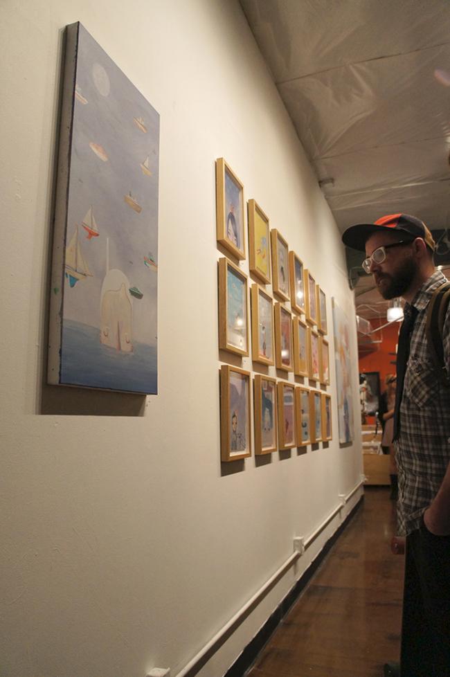 Yoskay Yamamoto - Hellion Gallery - Rainy Day with a Chance of Sun 4