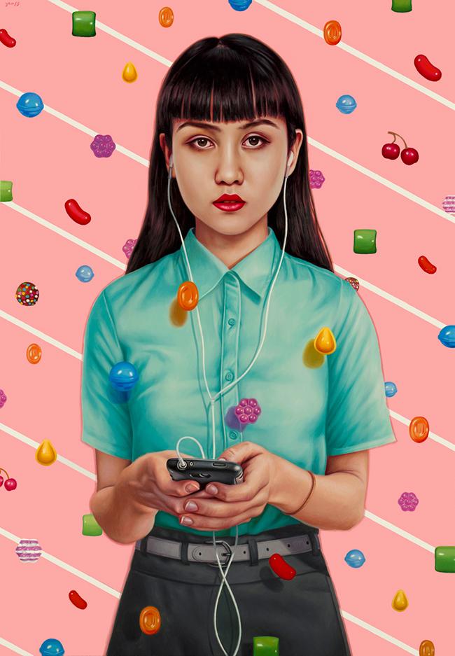 Alex Gross - Candy Crush
