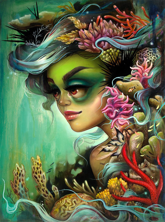 Tatiana Suarez - Rainforests of the Sea