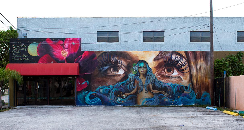 Tatiana Suarez - Tati Kamea (Mural)