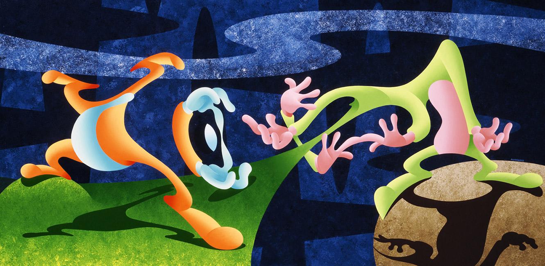 Anthony Ausgang - Cartoon Creationism