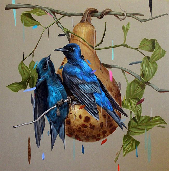 Frank Gonzales - Purple Martins