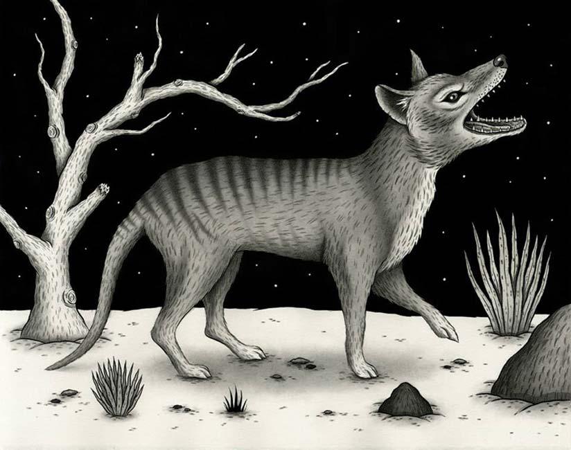 Jon MacNair - Thylacine
