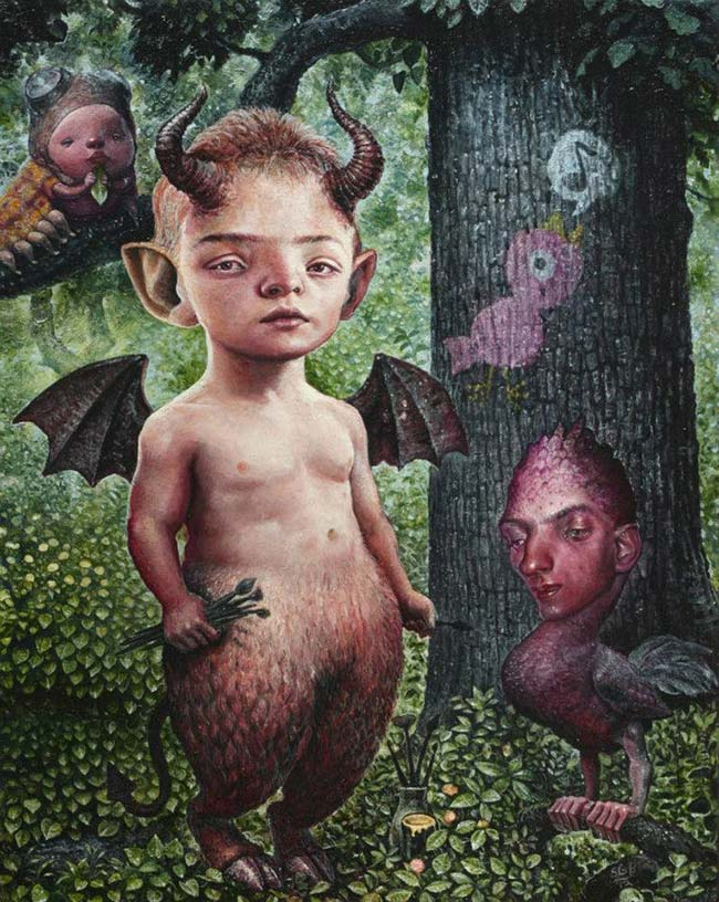 Scott G Brooks - Portrait of the Artist as a Little Devil