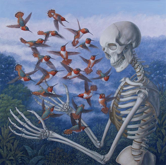 Sandra Yagi - Death and Hummingbirds