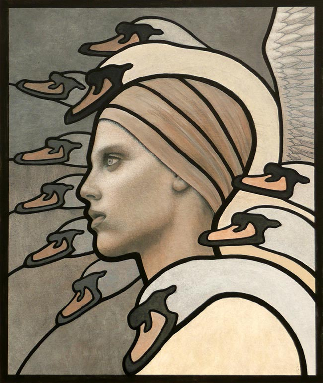 Erlend Tait - Valkyrie and Swans