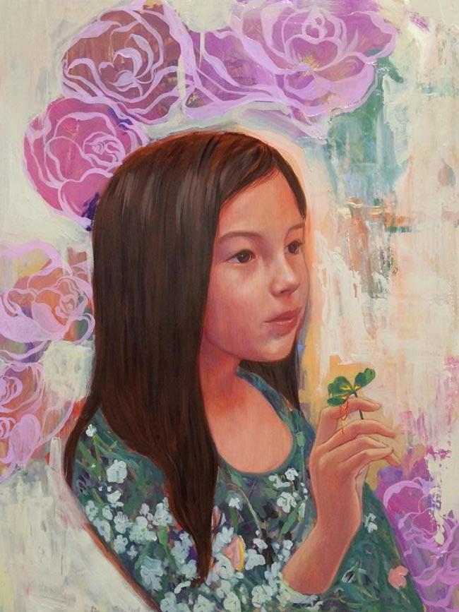 Helice Wen - Portrait of a Girl