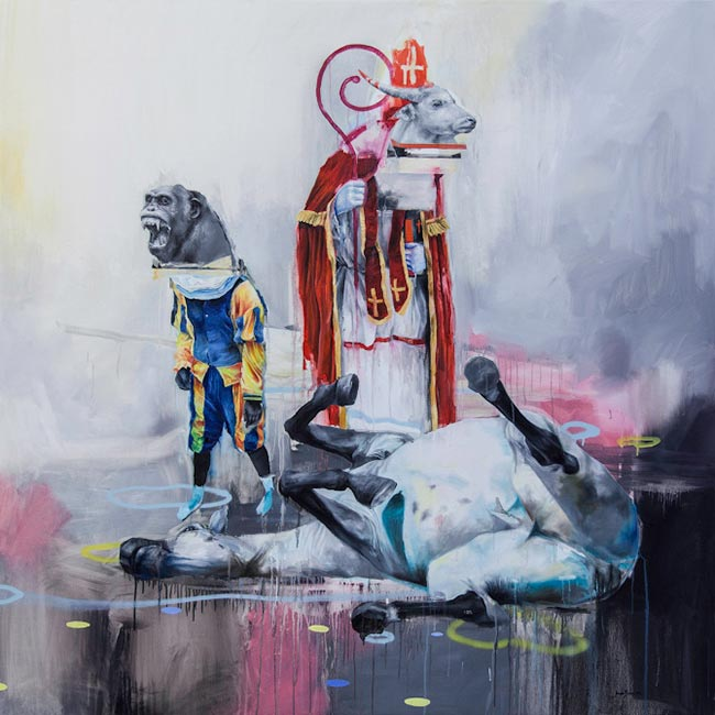 Joram Roukes - Death of Amerigo