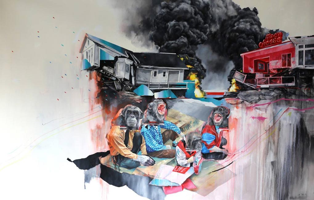 Joram Roukes – Human Behaviour – Artist Profile