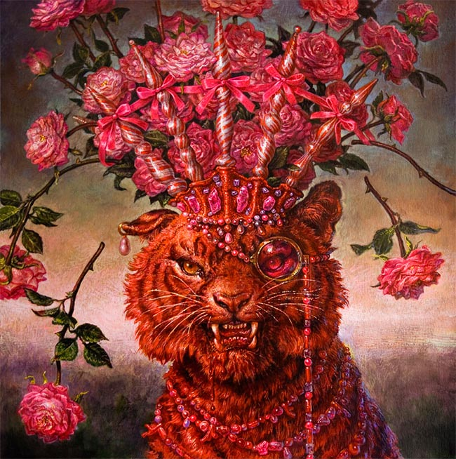 Thomas Woodruff - The Four Temperaments - (Tiger Variation) Sanguinic