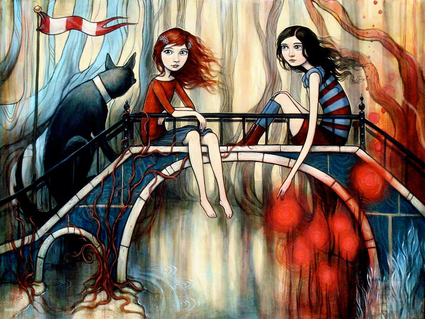 Kelly Vivanco - On the Bridge