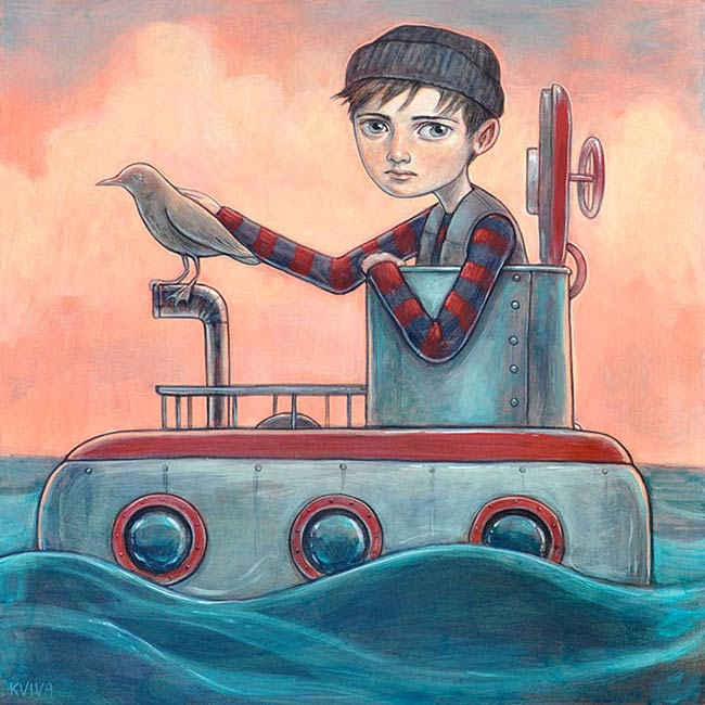 Kelly Vivanco - Submarine