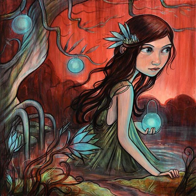 Kelly Vivanco - Wading into Nightfall