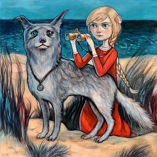 Kelly Vivanco - Watchers from the Dunes
