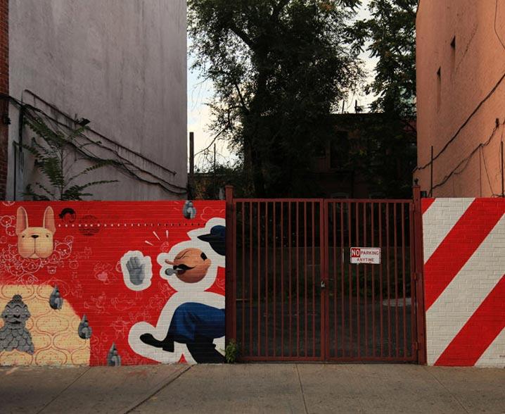 Robert MacKenzie - RVMP Mural (135 Grand Street - 1)