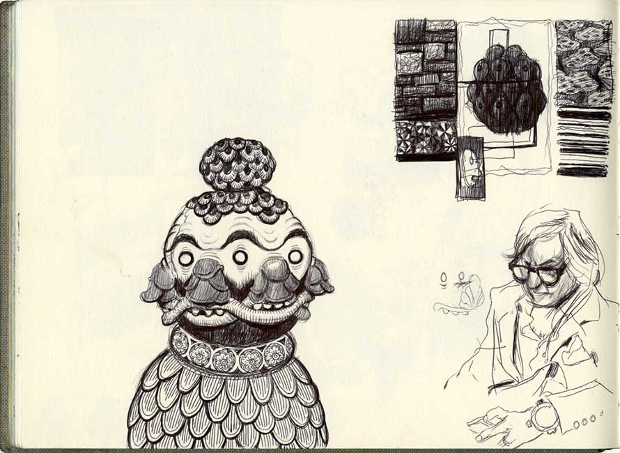 Robert MacKenzie - Sketchbook Page 3