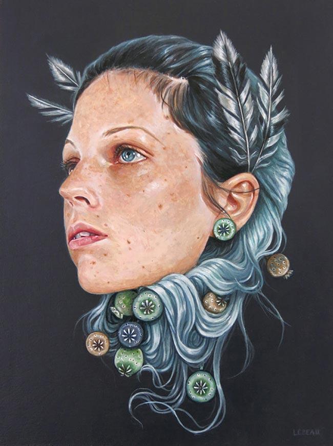 Edith Lebeau - Légère comme une plume