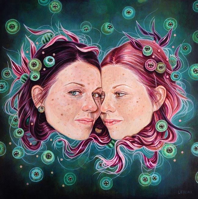 Edith Lebeau - Sisters