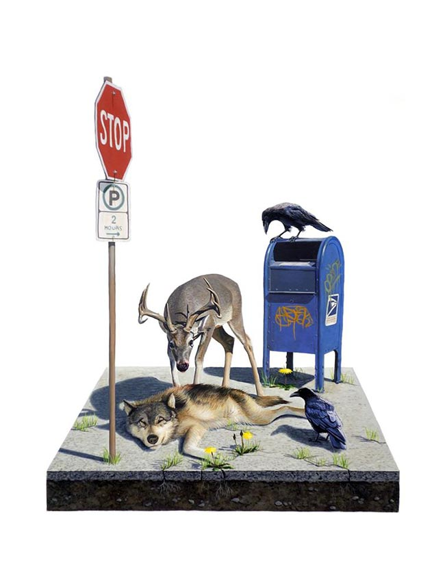 Josh Keyes - Adaptation I