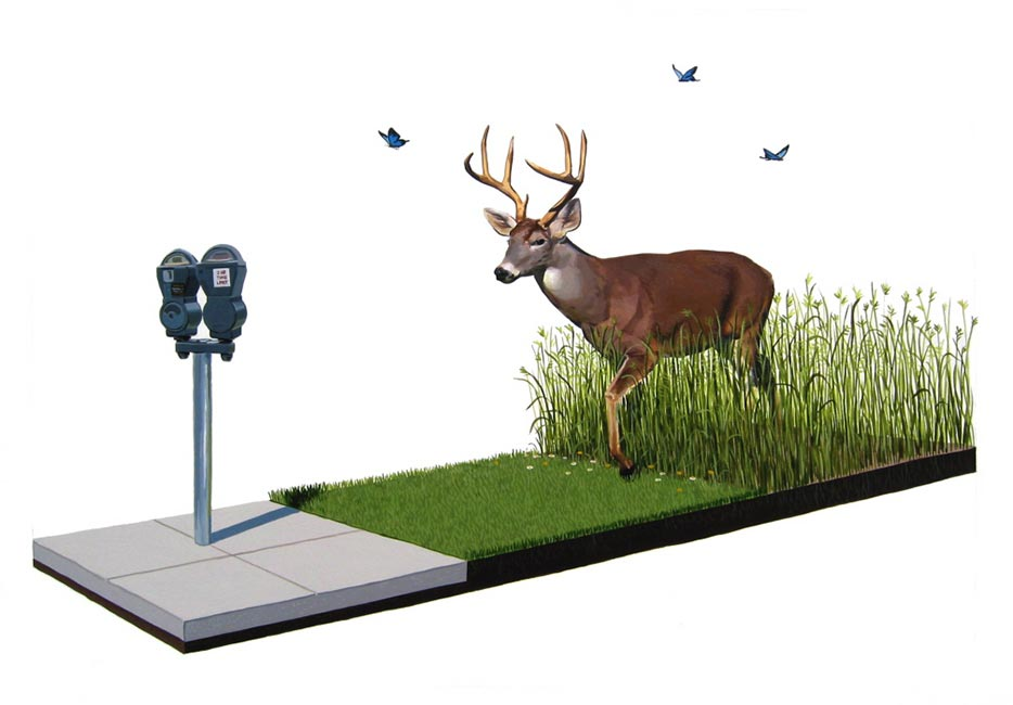 Josh Keyes - City Limits