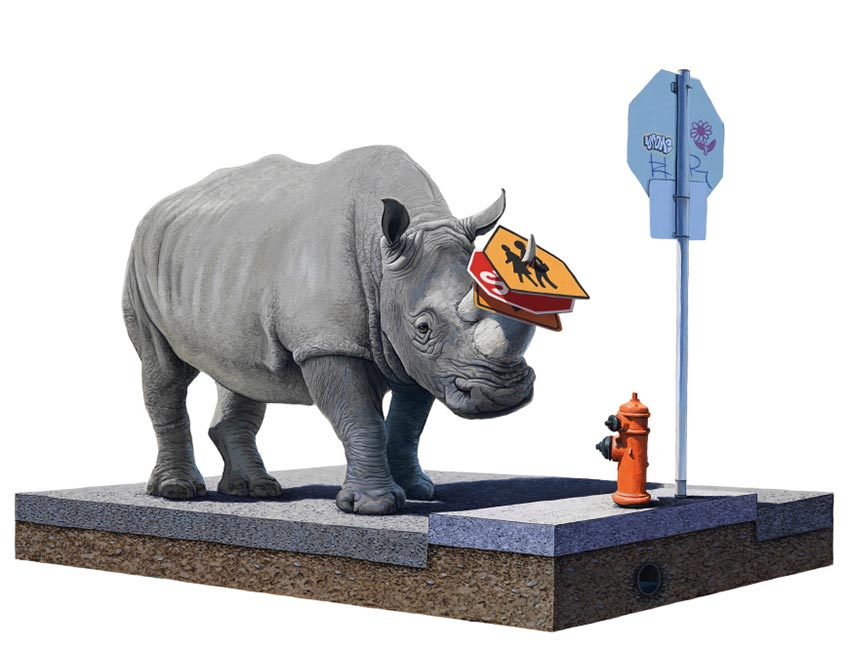 Josh Keyes – Artefacts from the Dystopian Museum – Artist Interview