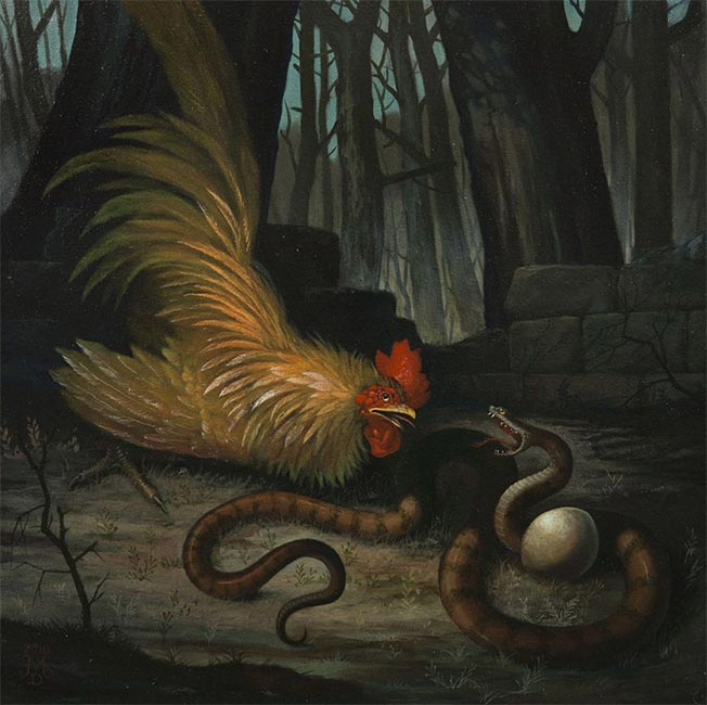 Mike Davis - The Rooster and the Snake