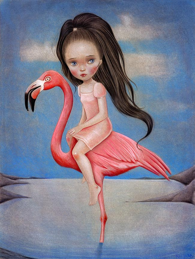 Raúl Guerra - Flamingo Rider