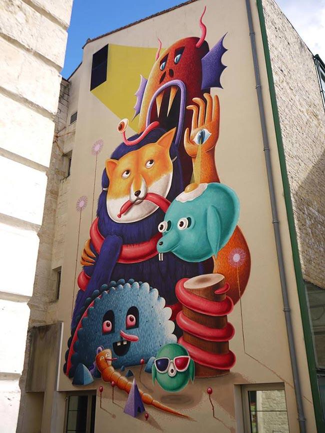 Amandine Urruty - 4 Eme Wall Niort with Nicolas Barrome