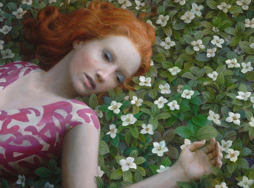 Aron Wiesenfeld - Flowerbed