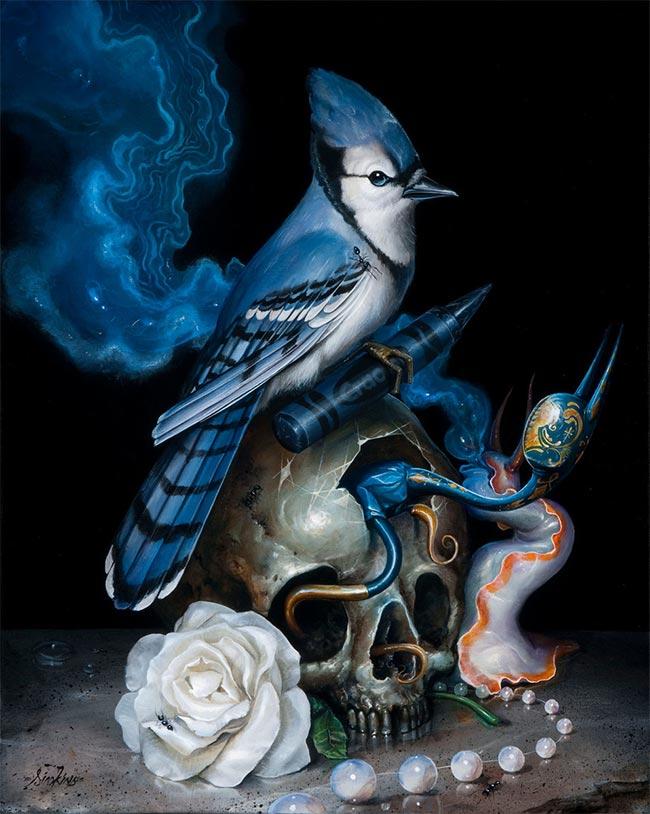 Greg Simkins - Azul