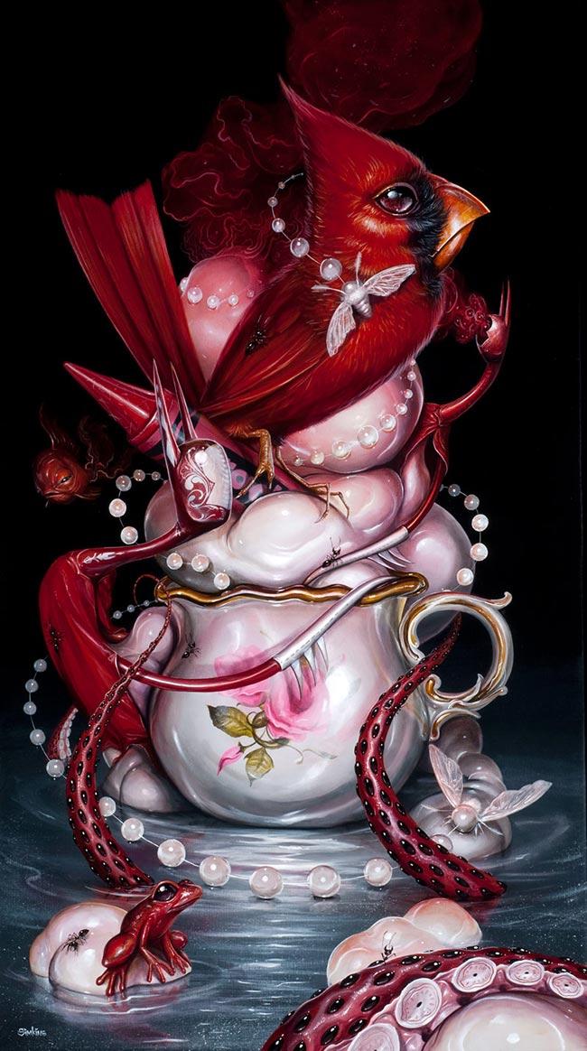 Greg Simkins - Crimson