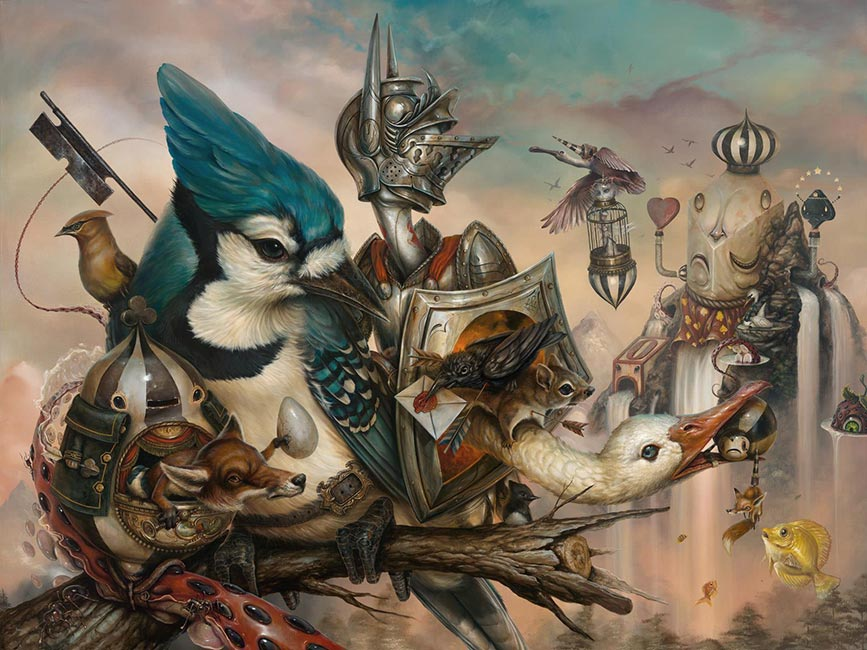 Greg Craola Simkins - Good Knight