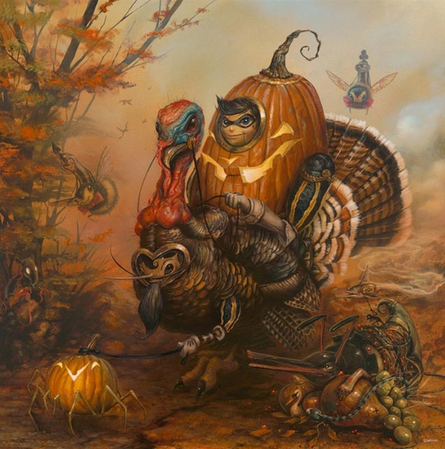Greg Simkins - The Gobbler