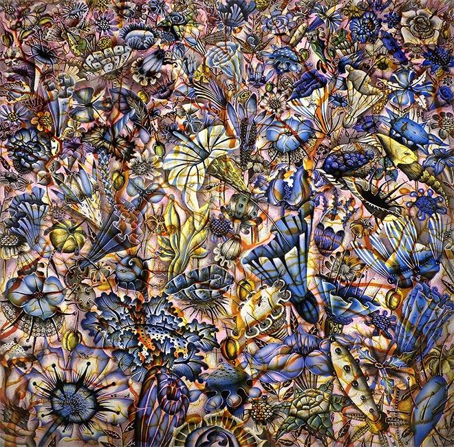 Judith Schaechter - Ambivalence (Detail)