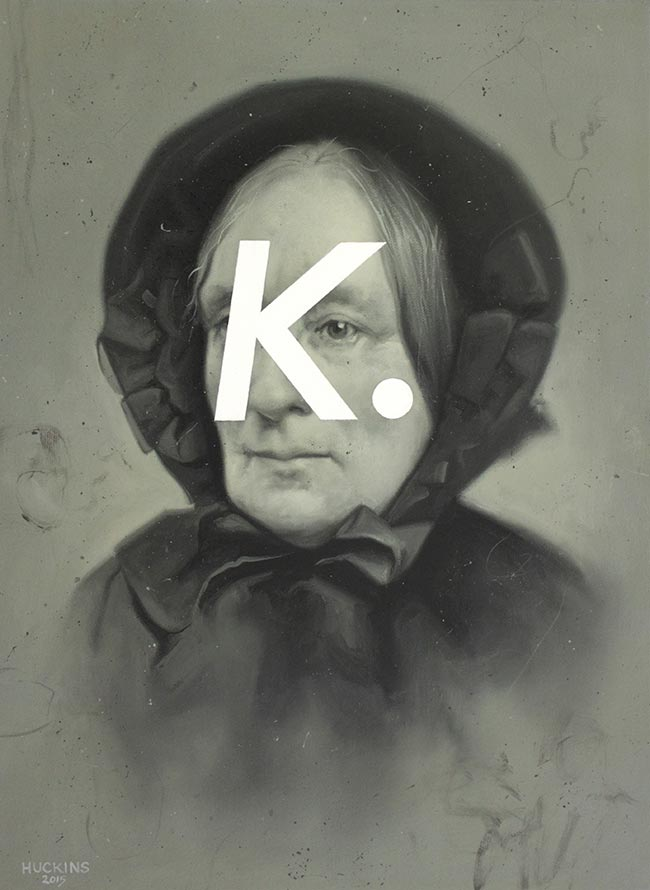 Shawn Huckins - Elderly Woman In Black Cape: Okay