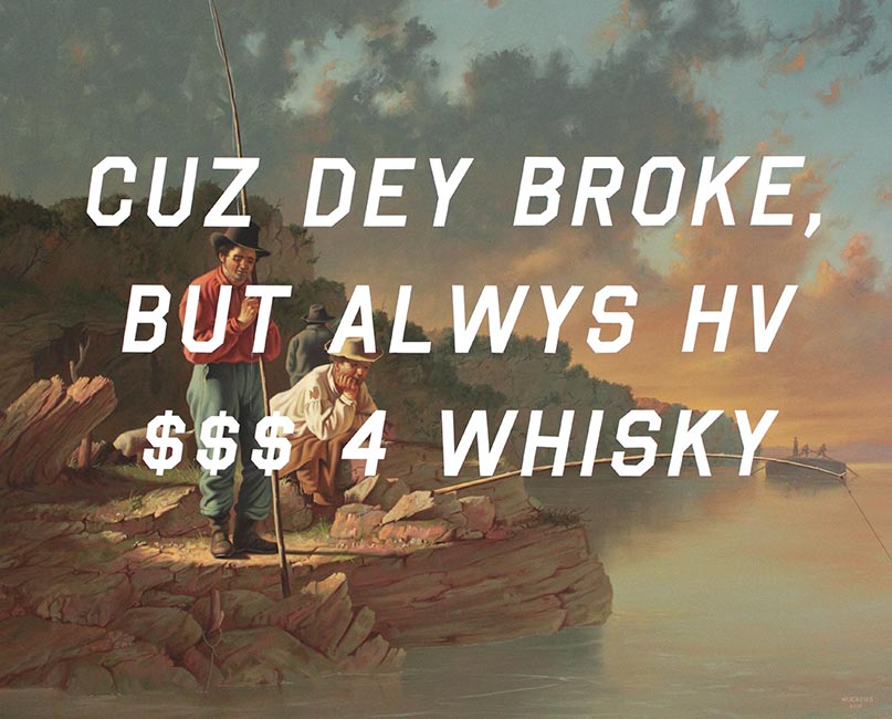 Shawn Huckins - Fishing On The Mississippi: Money For Whiskey