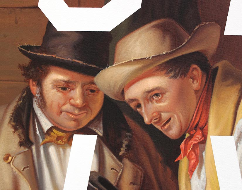 Shawn Huckins - The Raffle: Hipsters Be Like (Detail 6)