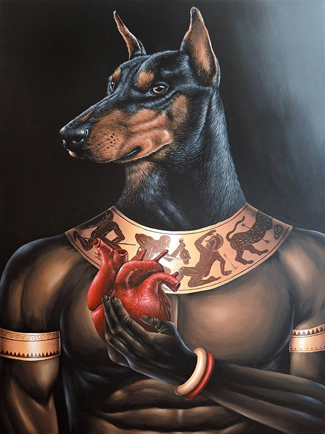Saddo - Weighing of the Heart - Anubis