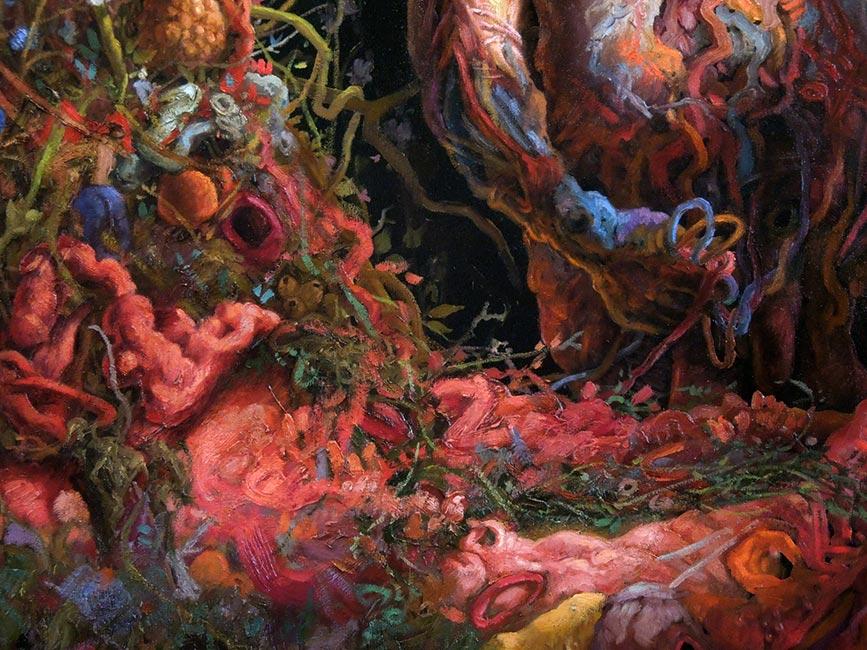 Adrian Cox - Amniotic Paradise (Detail 2)