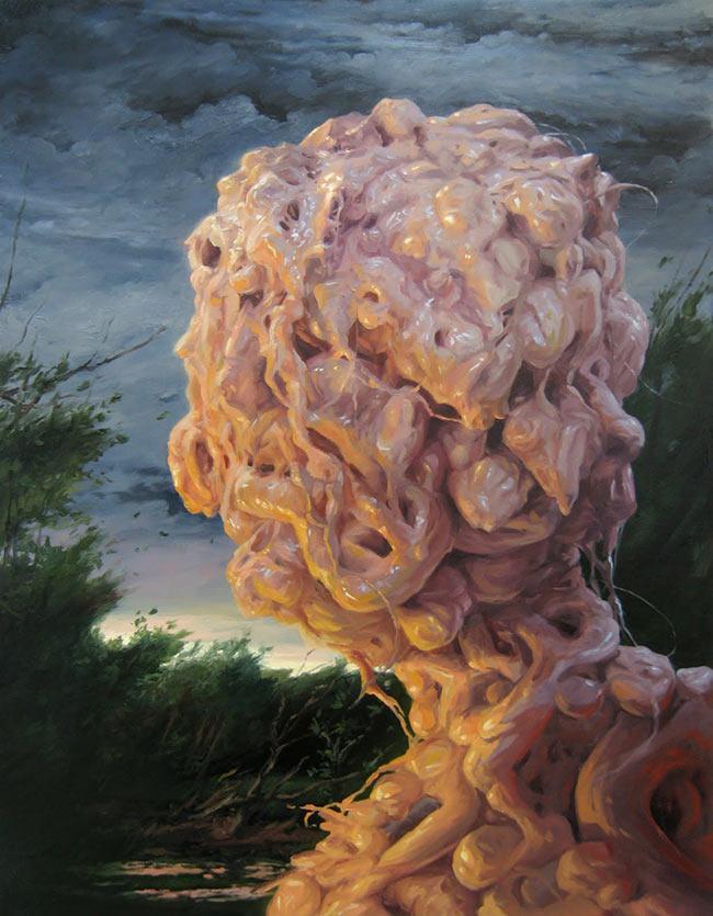Adrian Cox - Border Creature - Portrait II