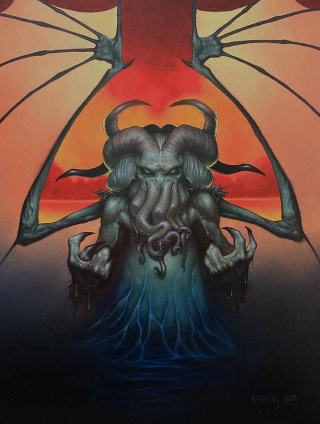 Dan Harding - Cthulhu Rising