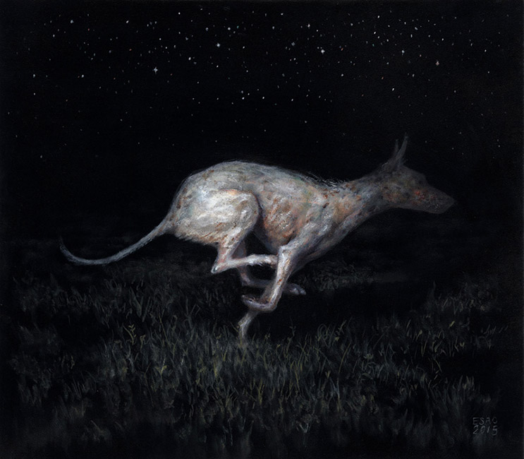 Esao Andrews - Chupacabra (Dog With Mange)