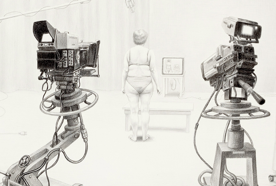 Laurie Lipton - REALITY TV, (Detail)